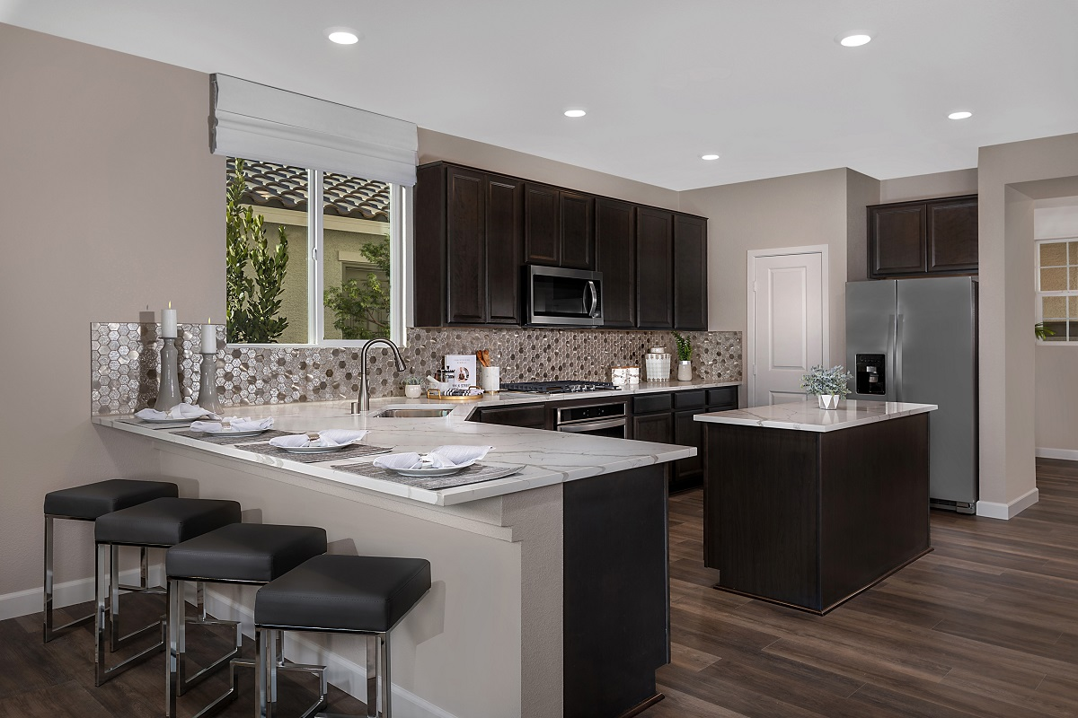 New Homes in Las Vegas, NV - Reserves at Serene Canyon Plan 2993 Kitchen