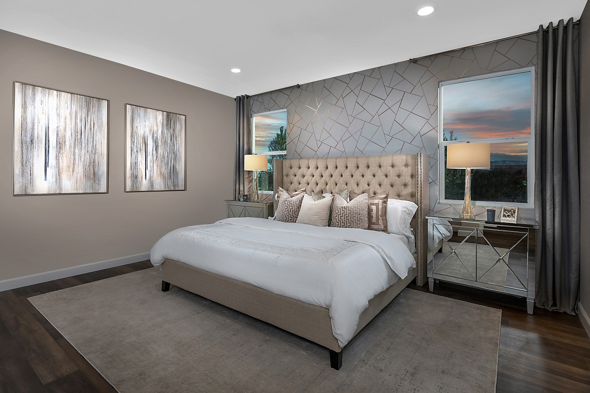 New Homes in Las Vegas, NV - Reserves at Serene Canyon Plan 2993 Master Bedroom 1