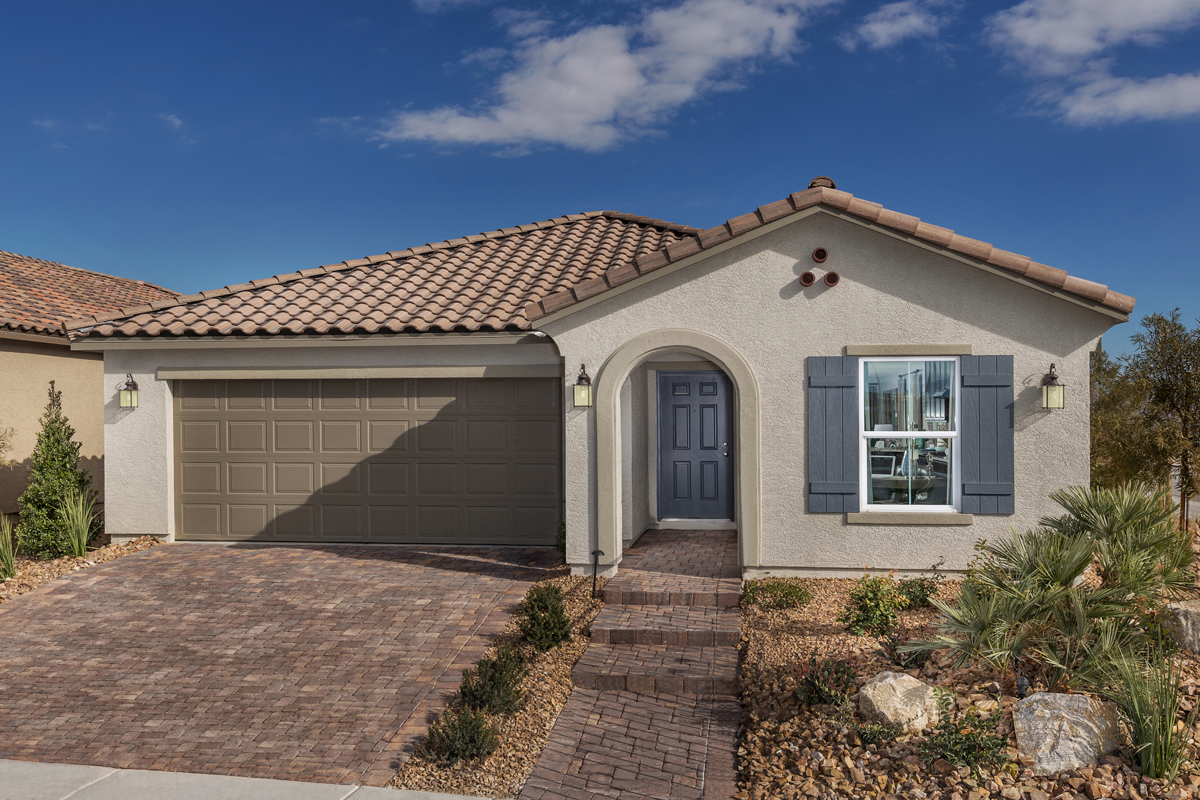 New Homes in North Las Vegas, NV - Reserves at Tanglewood Plan 1589 Modeled