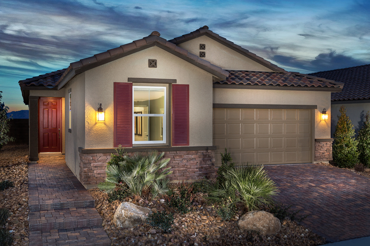 New KB quick-move-in homes available at Reserves at Tanglewood in North Las Vegas, NV.  is one of many quick-move-in homes to choose from.