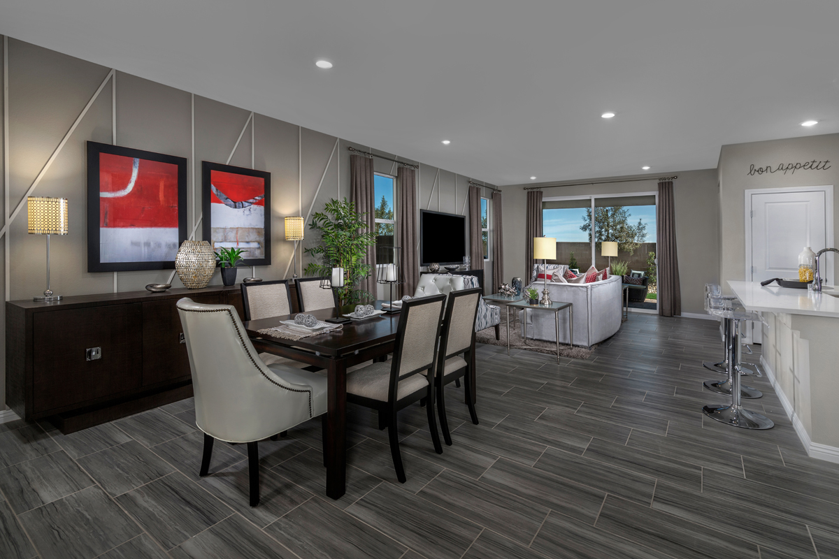 New Homes in North Las Vegas, NV - Reserves at Tanglewood Plan 1849 Great Room