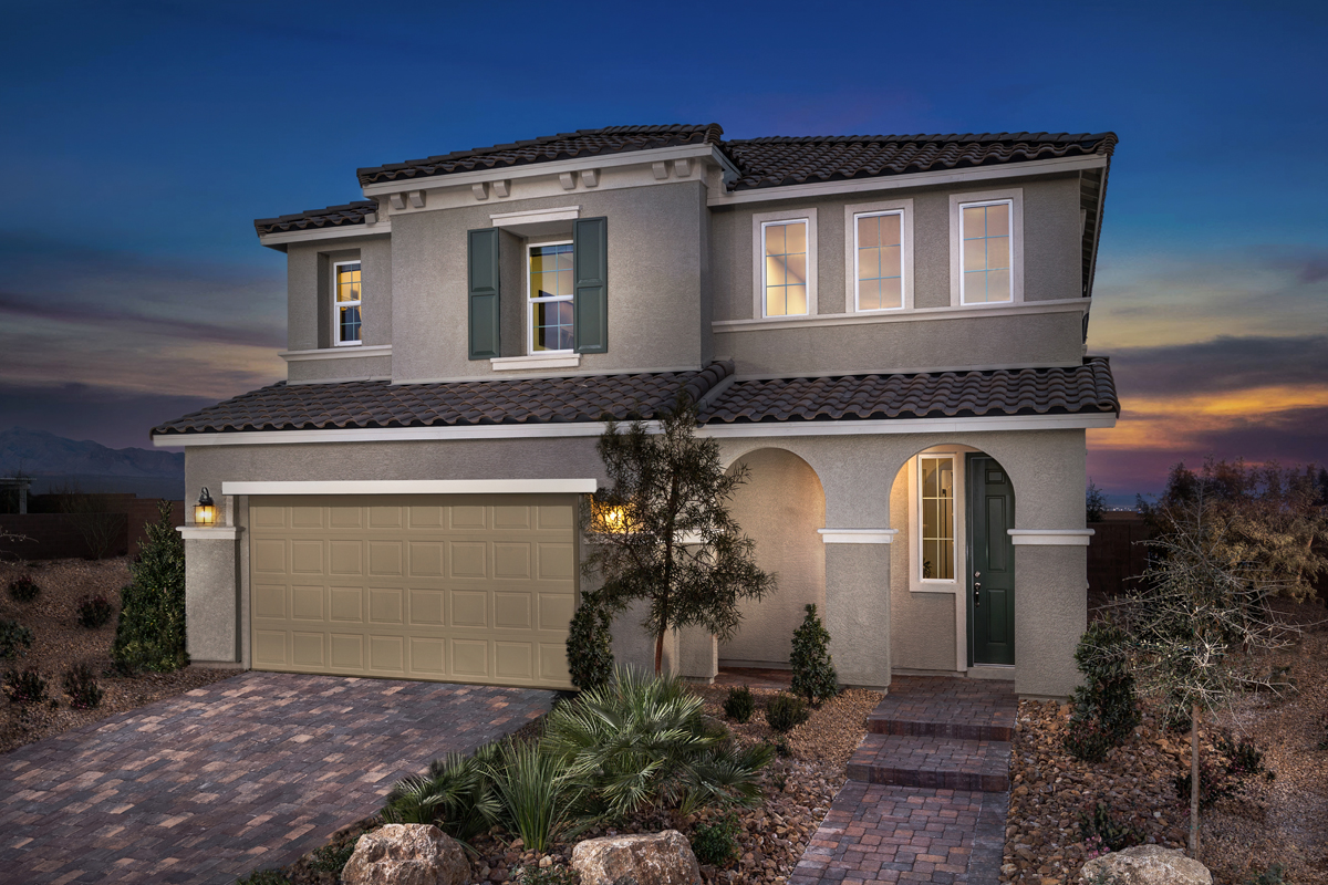 New Homes in North Las Vegas, NV - Reserves at Tanglewood Plan 3059 Modeled
