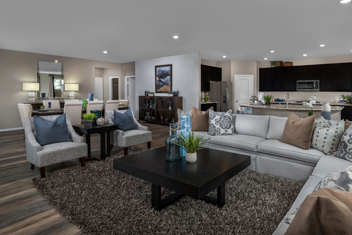 New Homes in North Las Vegas, NV - Reserves at Tanglewood Plan 3059 Great Room