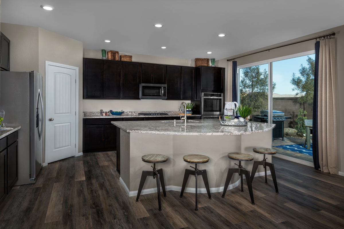New Homes in North Las Vegas, NV - Reserves at Tanglewood Plan 3059 Kitchen