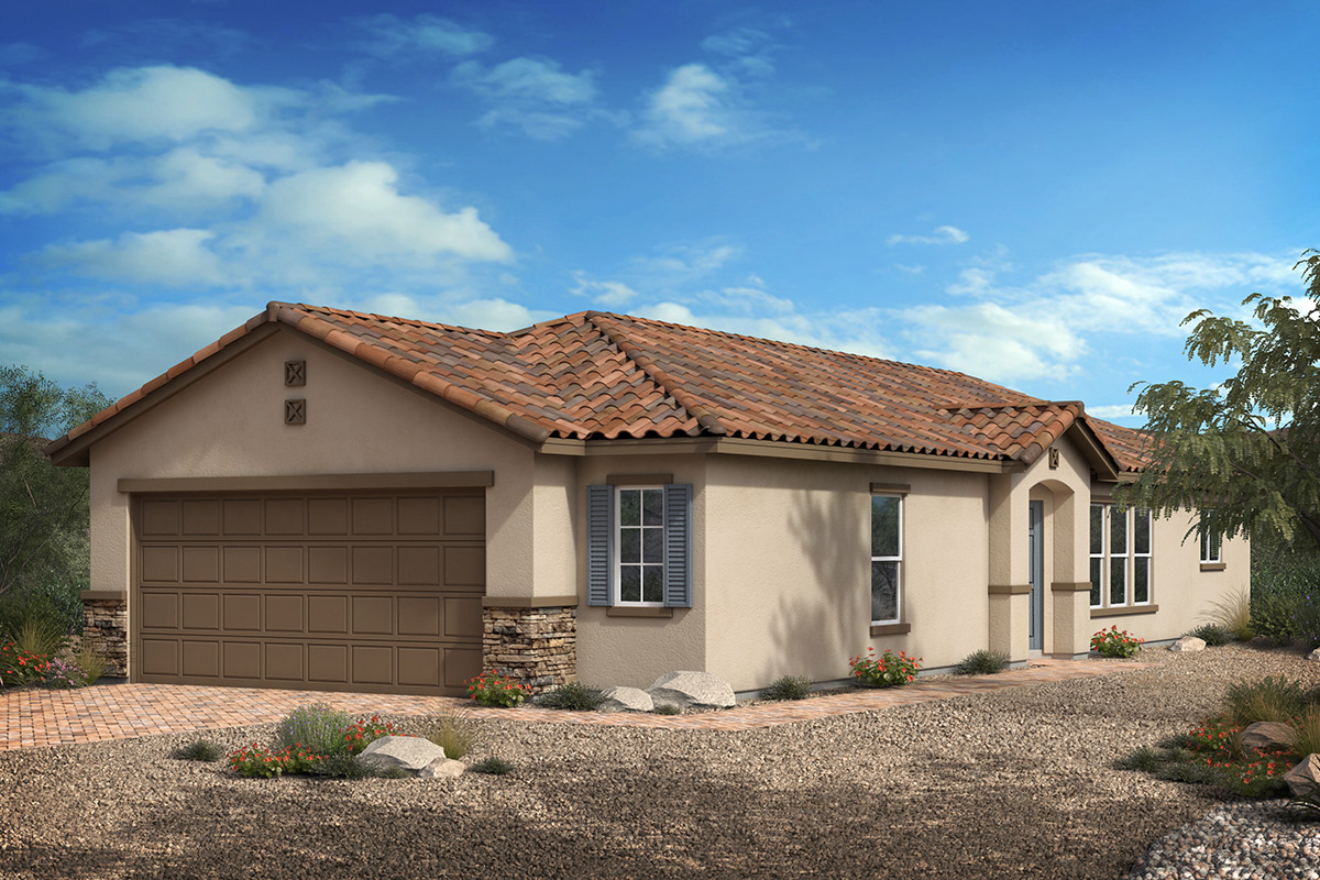 New Homes in North Las Vegas, NV - Plan 1203 Modeled