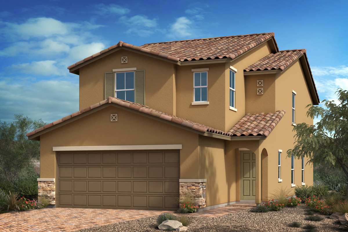 New Homes in North Las Vegas, NV - Elevation B