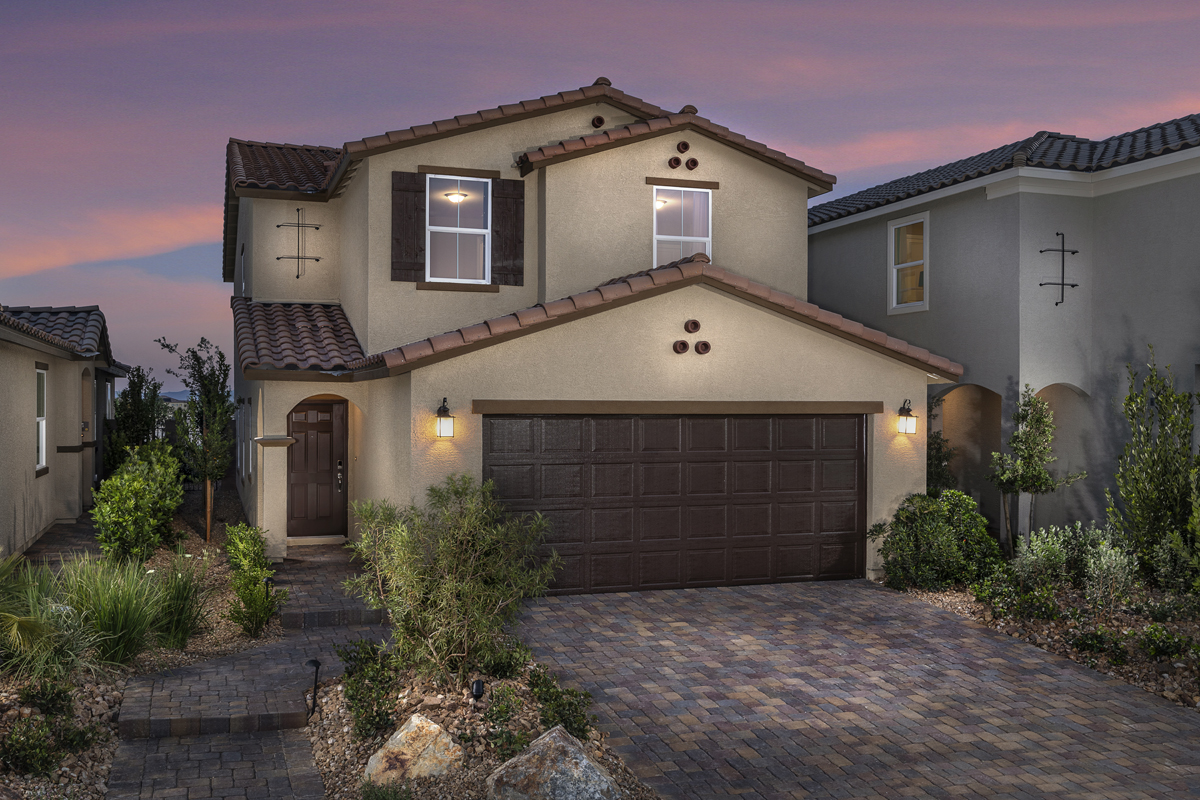 New Homes in North Las Vegas, NV - Plan 2114 Modeled