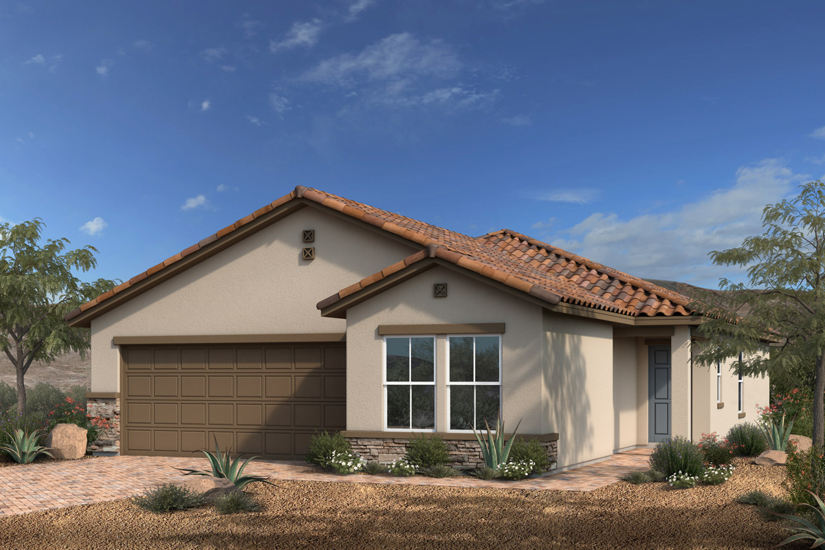 New Homes in North Las Vegas, NV - Reserves at Saddlebrook Plan 1550