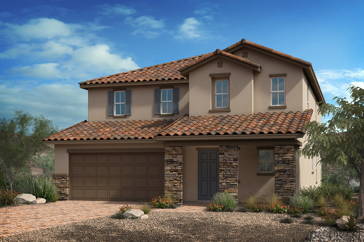 New Homes in North Las Vegas, NV - Reserves at Saddlebrook Plan 2993