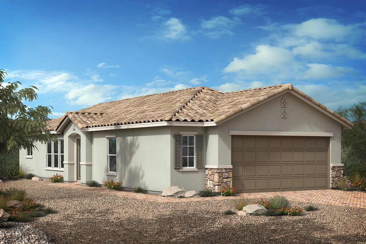 New Homes in Las Vegas, NV - Saguaro Plan 1203 Elevation B