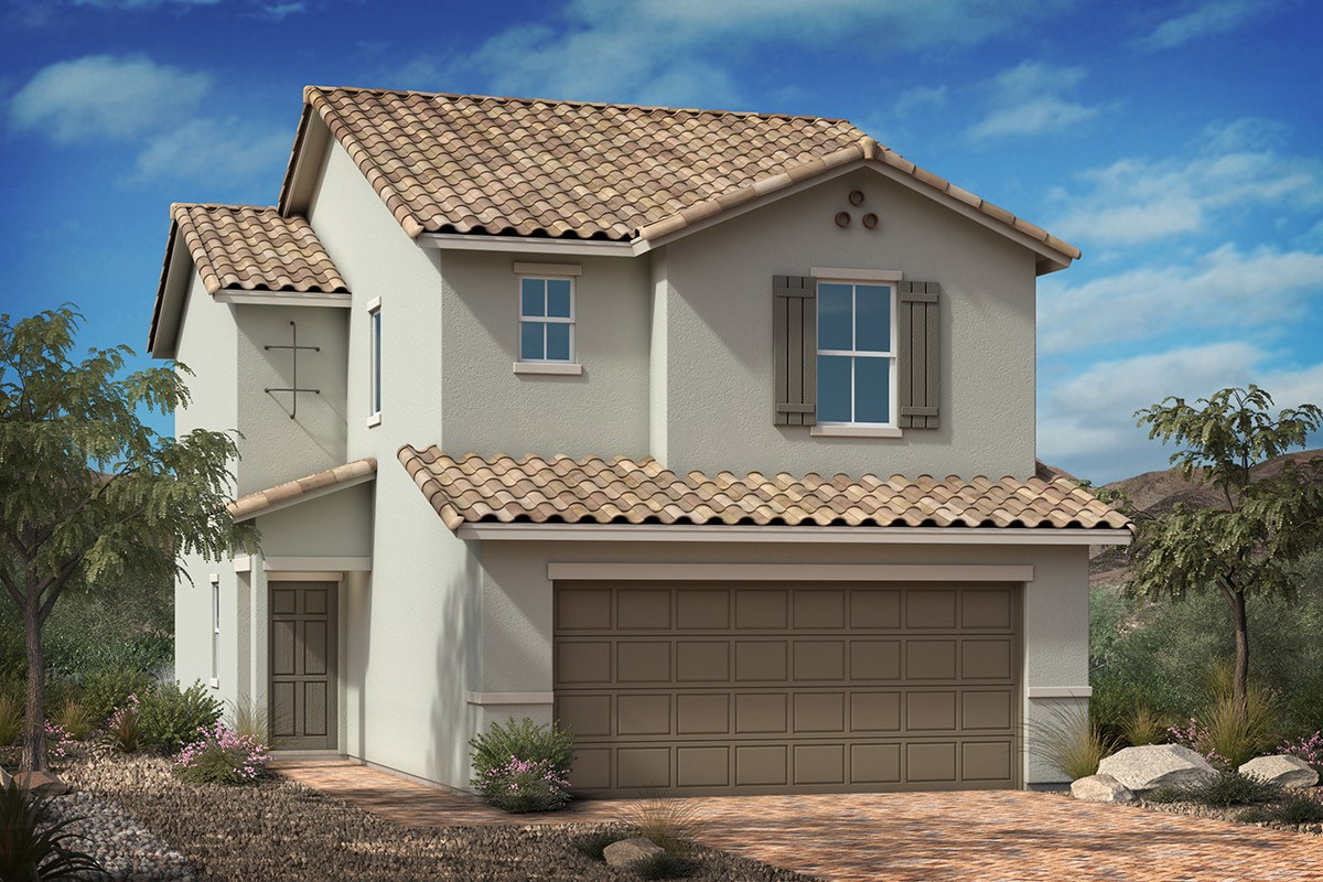 New Homes in Las Vegas, NV - Saguaro Plan 1455 Elevation A