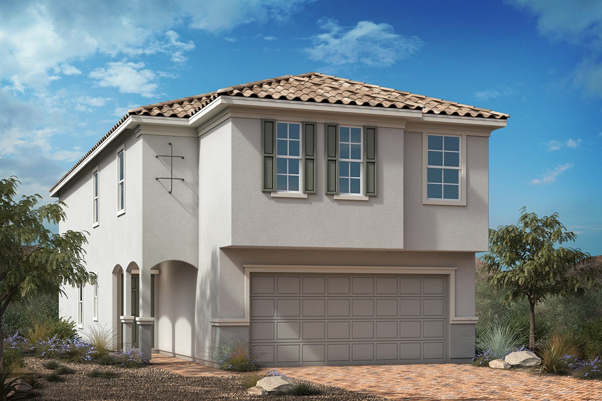 New Homes in Las Vegas, NV - Saguaro Plan 2469 Elevation E
