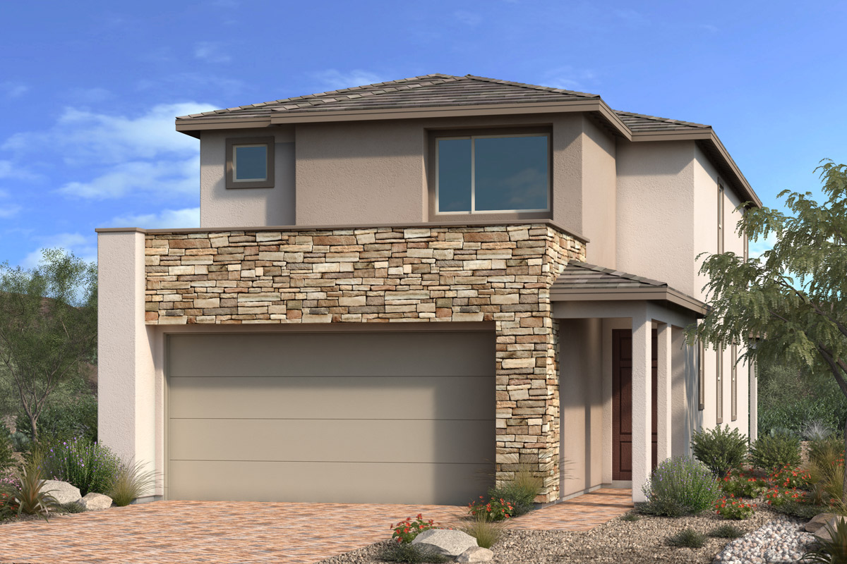 New Homes in Las Vegas, NV - Stonegate at Summerlin - Collection I Plan 2114