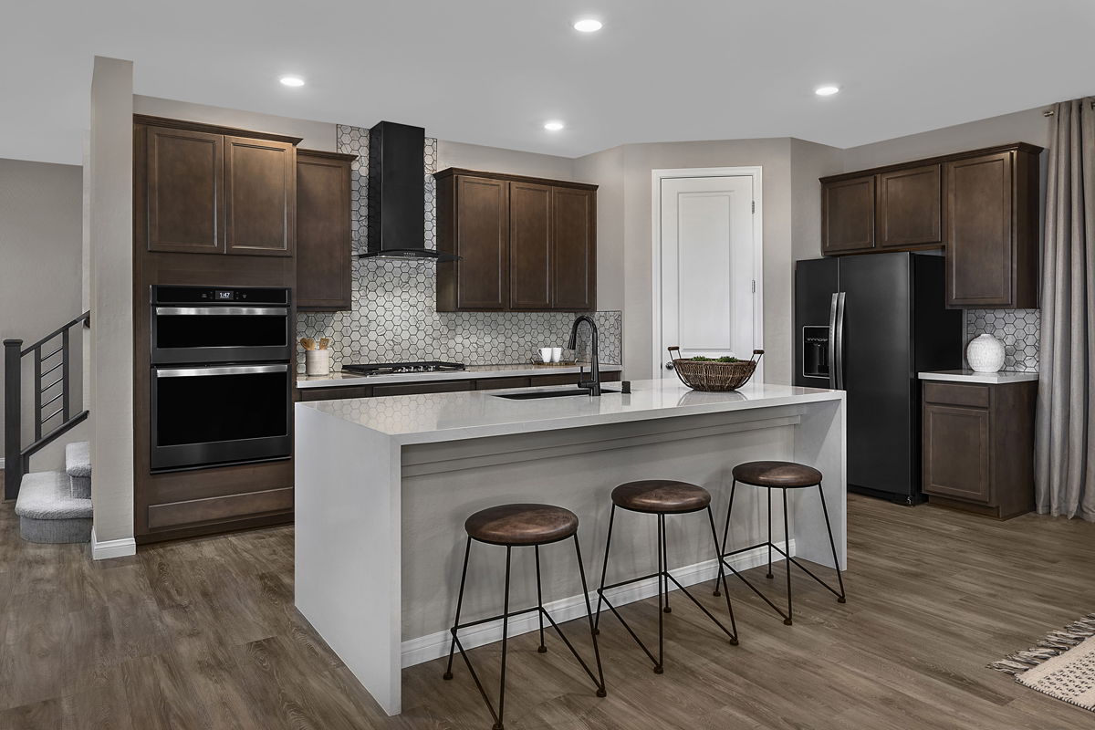 New Homes in Las Vegas, NV - Stonegate at Summerlin - Collection I Plan 2466 Kitchen