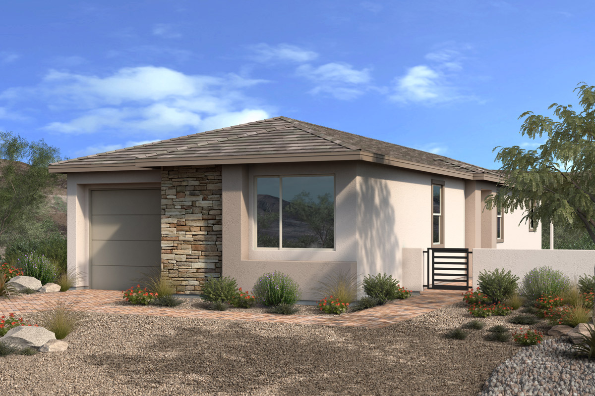 New Homes in Las Vegas, NV - Stonegate at Summerlin - Collection II Plan 1452