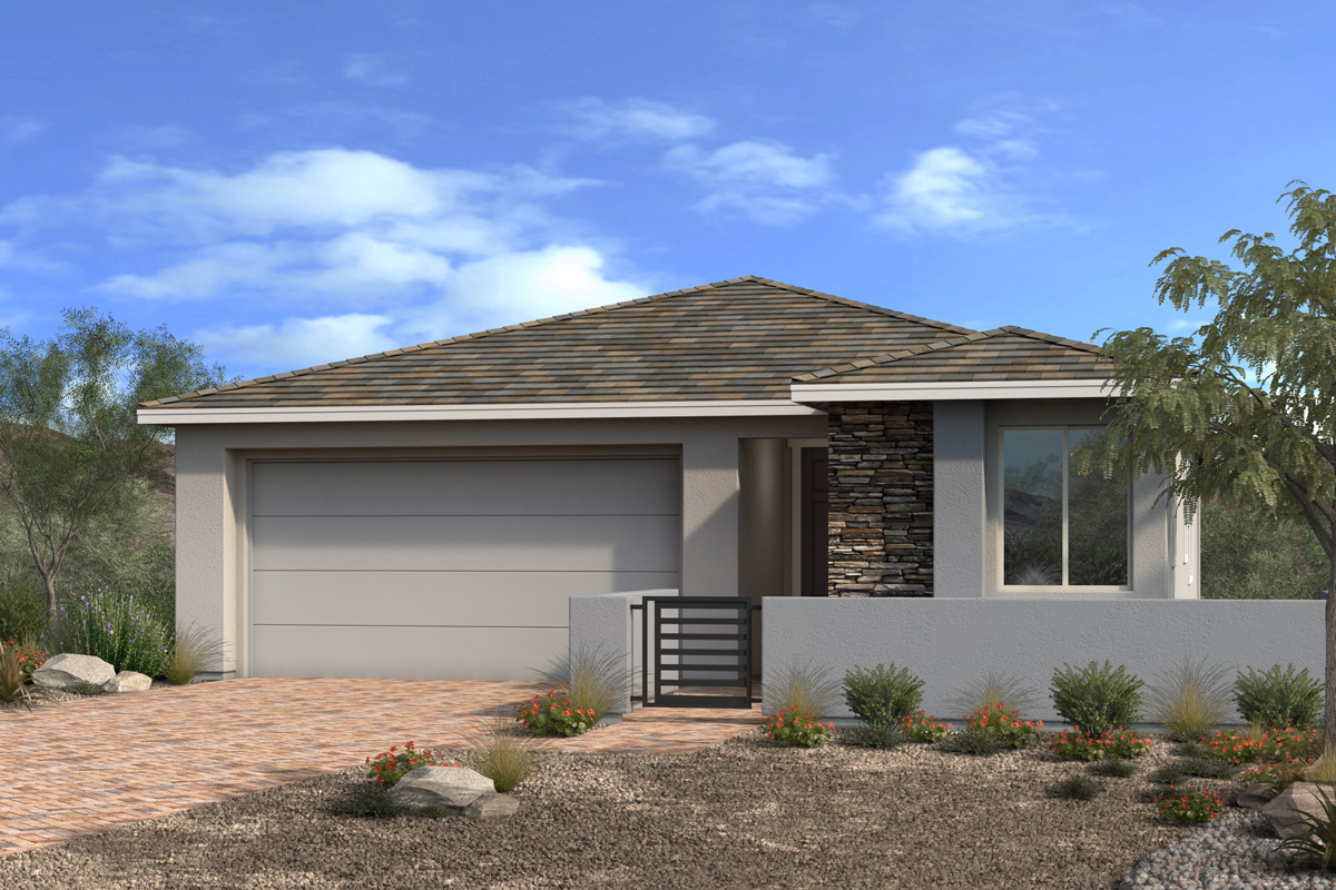 New Homes in Las Vegas, NV - Stonegate at Summerlin - Collection II Plan 1589