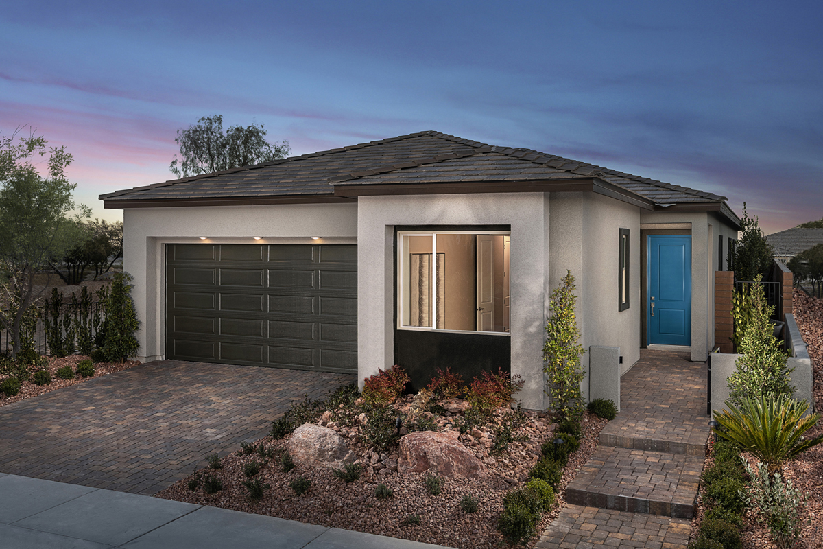 New Homes in Las Vegas, NV - Stonegate at Summerlin - Collection II Plan 1858-X