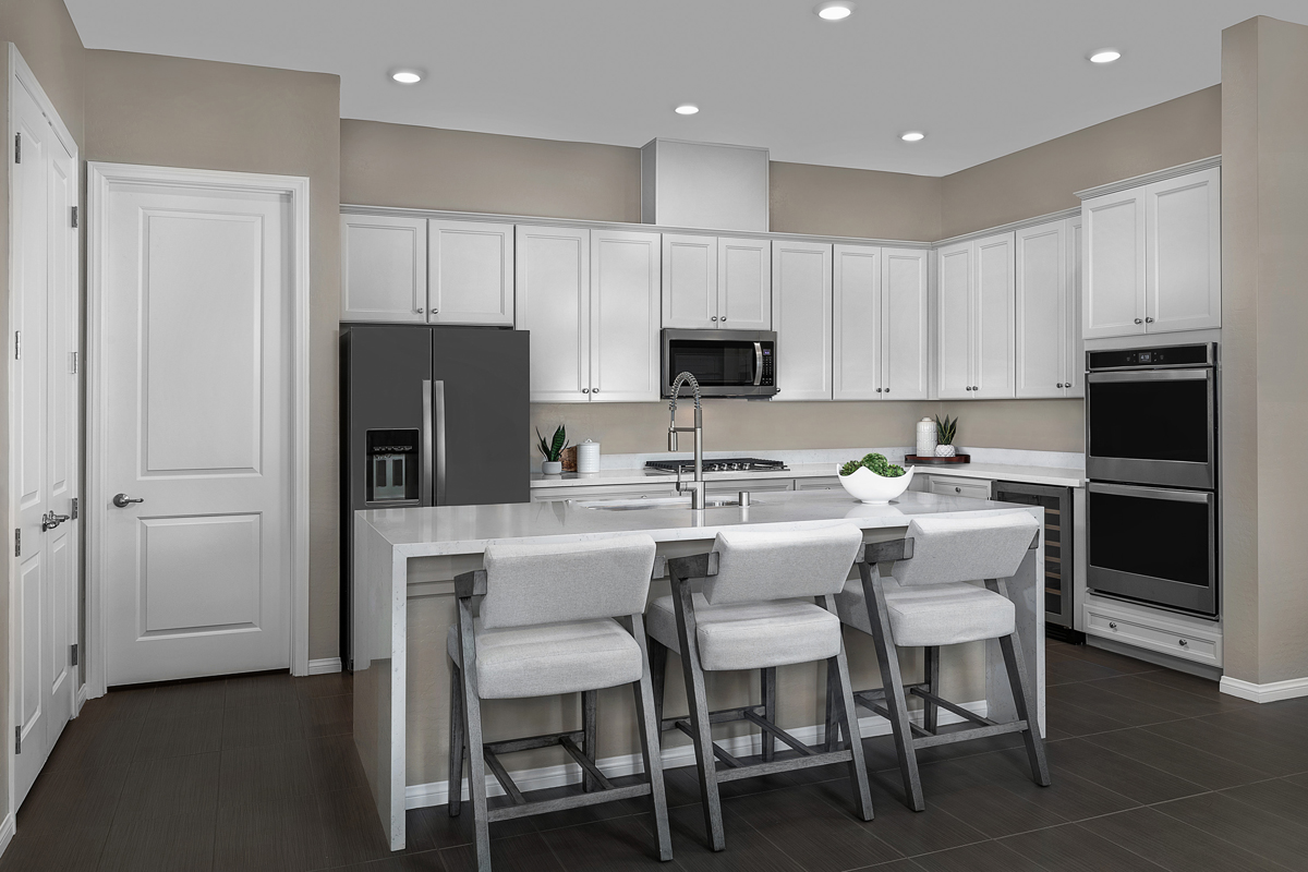 New Homes in Las Vegas, NV - Stonegate at Summerlin - Collection II Plan 1858-X Kitchen
