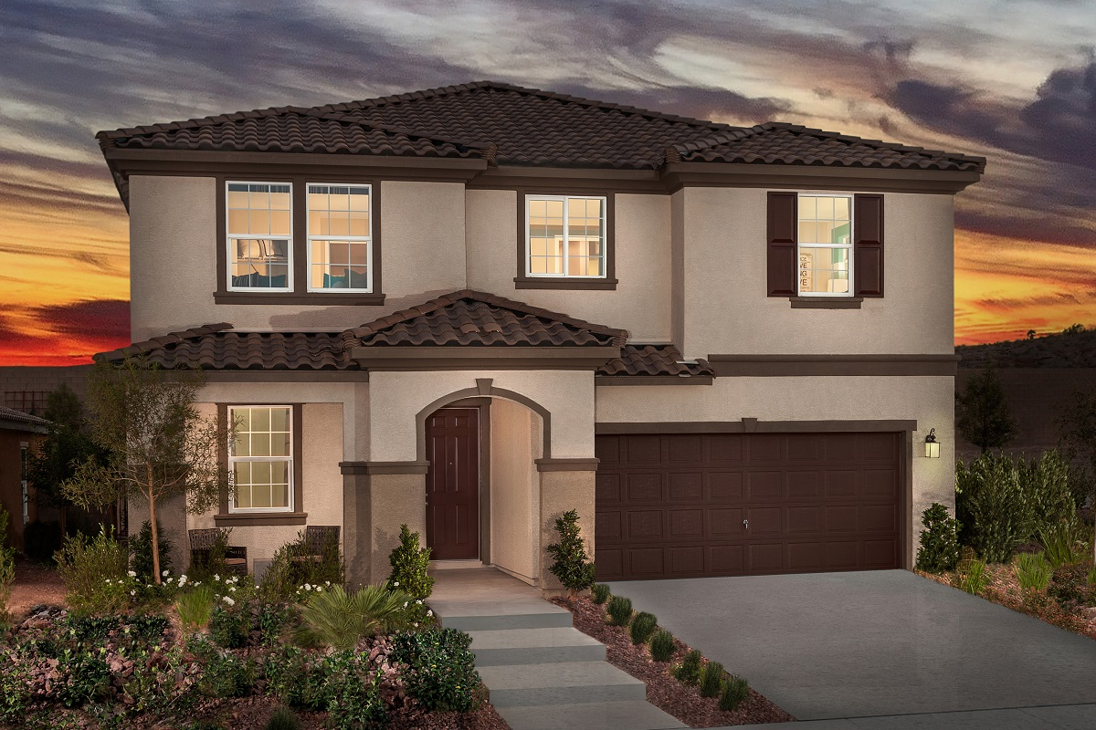 New Homes For Sale In Henderson Nv Talesera Hills Community By Kb Home