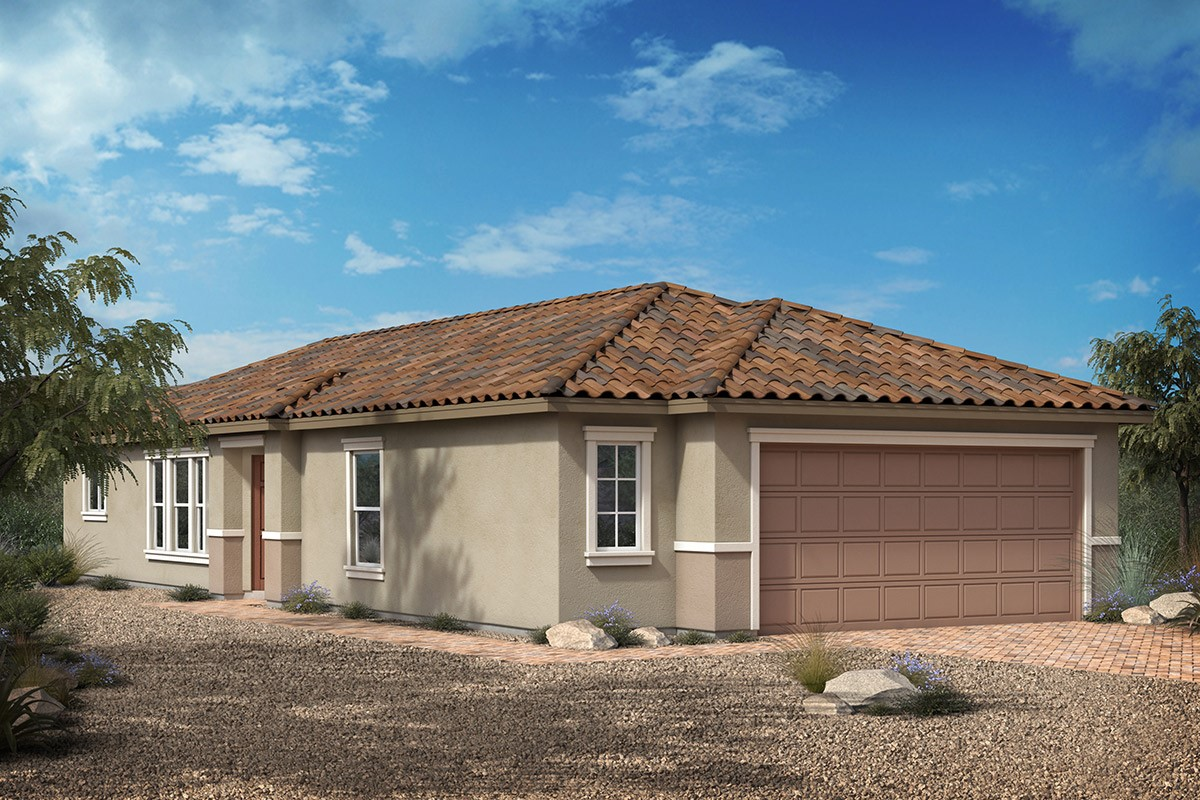 New Homes in Las Vegas, NV - Tarim Plan 1203 Elevation E