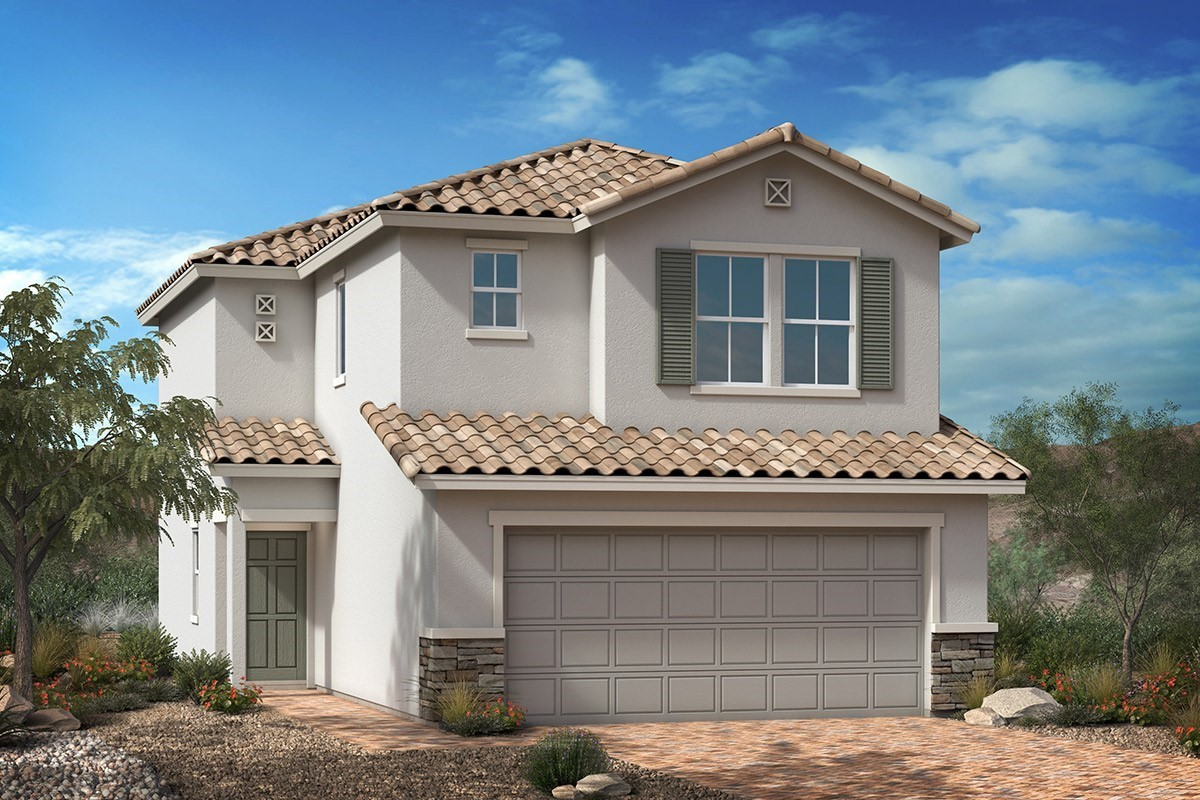 New Homes in Las Vegas, NV - Tarim Plan 1455 Elevation B