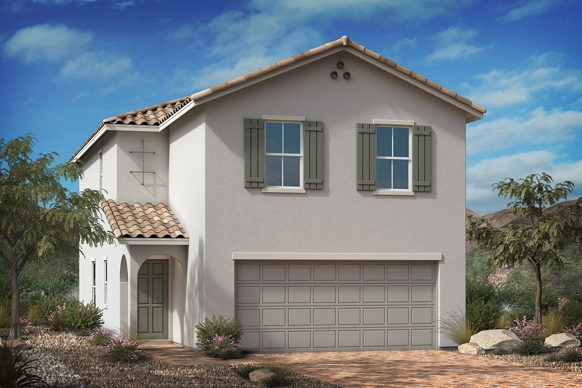 New Homes in Las Vegas, NV - Tarim Plan 1768 Elevation A