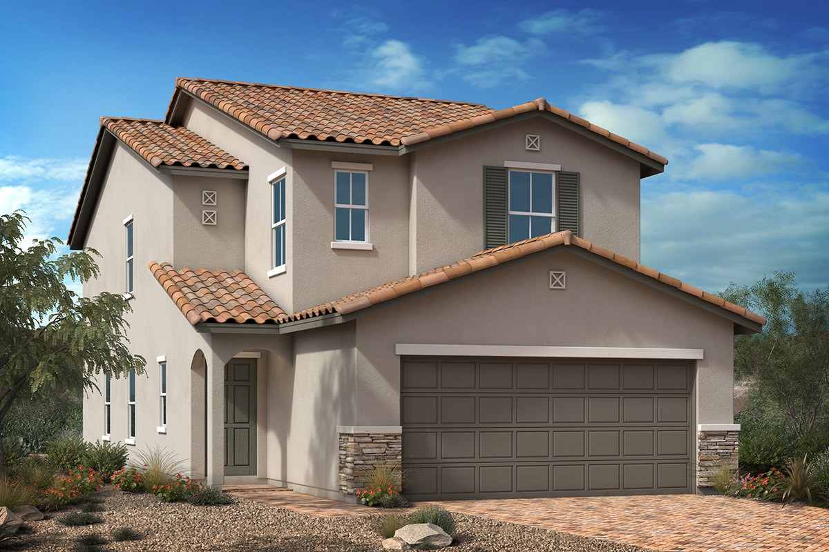 New Homes in Las Vegas, NV - Tarim Plan 2124 Elevation B