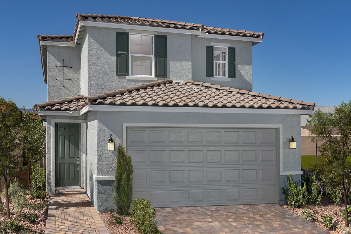 New Homes in Las Vegas, NV - Plan 2124 Modeled