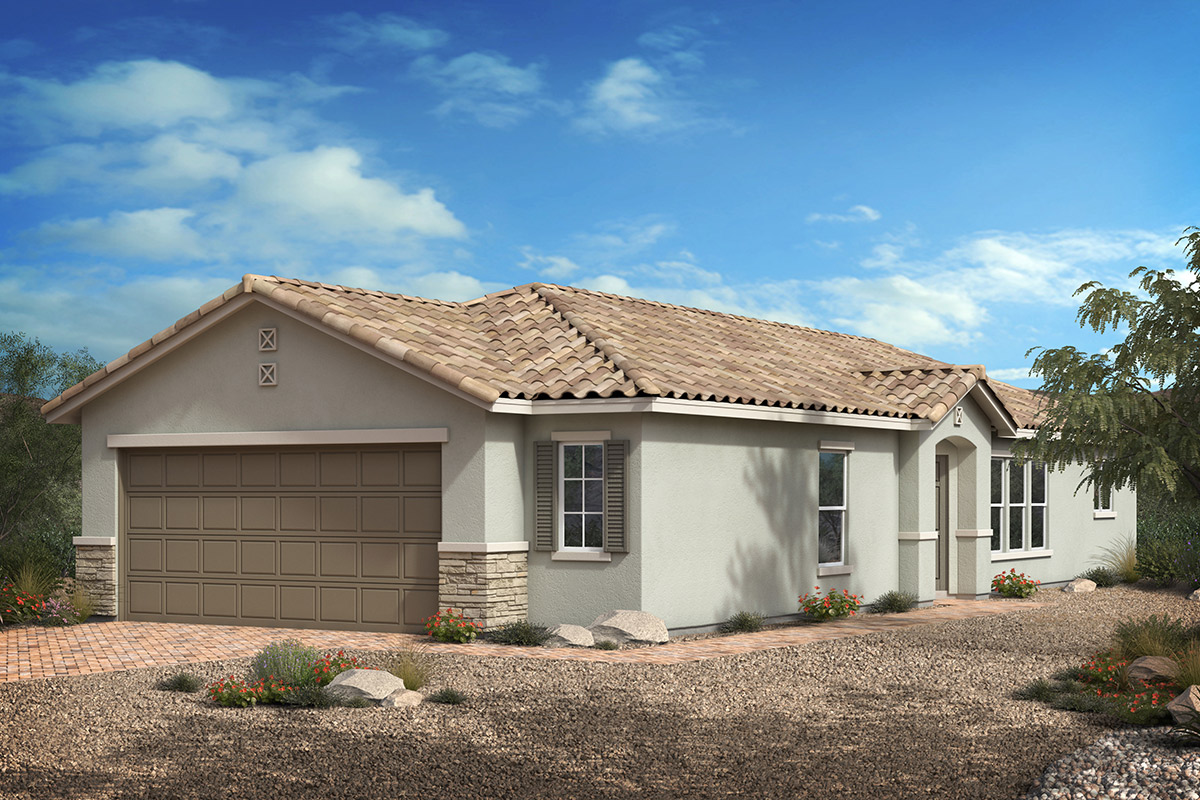 New Homes in Las Vegas, NV - Whistling Sands Plan 1203 Elevation B