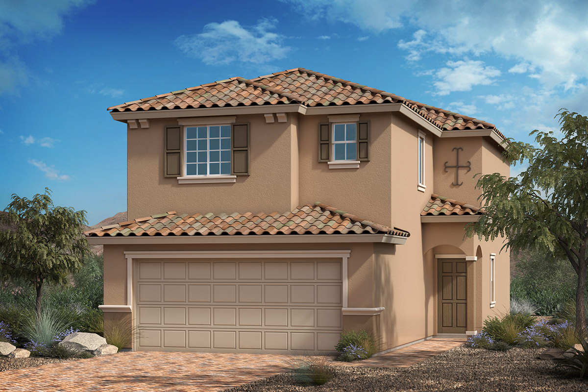 New Homes in Las Vegas, NV - Whistling Sands Plan 1455 Elevation E