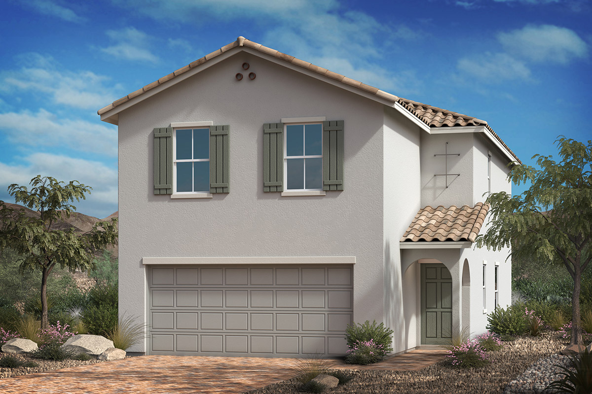 New Homes in Las Vegas, NV - Whistling Sands Plan 1768 Elevation A
