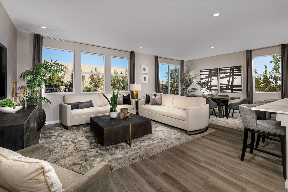New Homes in Las Vegas, NV - Whistling Sands Plan 2469 Great Room