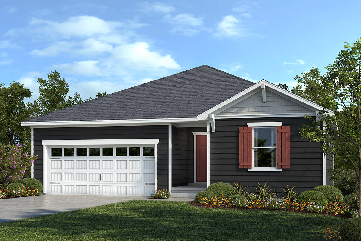 New Homes in Apex, NC - Belterra Plan 1455 Elevation B