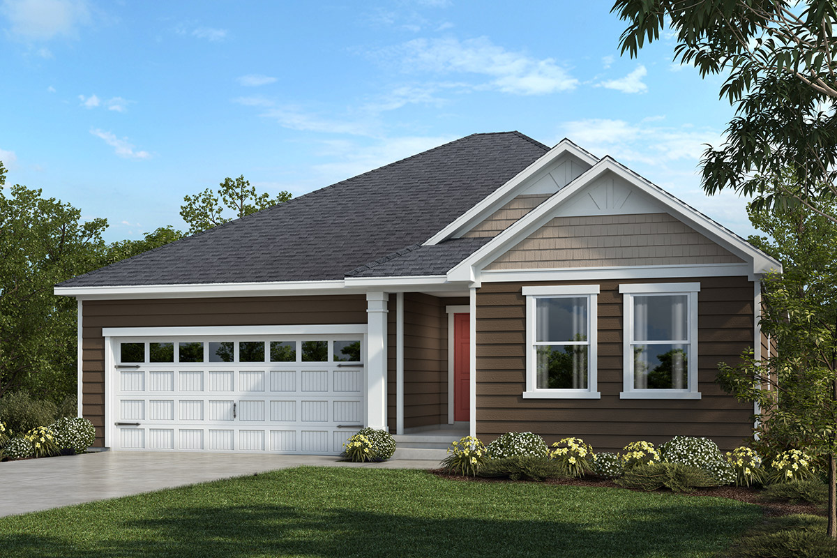 New Homes in Apex, NC - Belterra Plan 1582 Elevation C