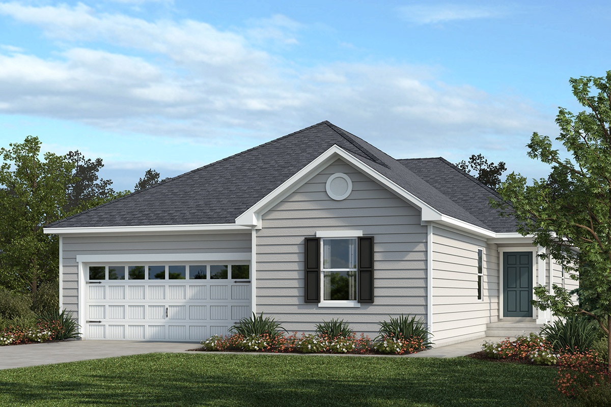 New Homes in Apex, NC - Belterra Plan 1844 Elevation A
