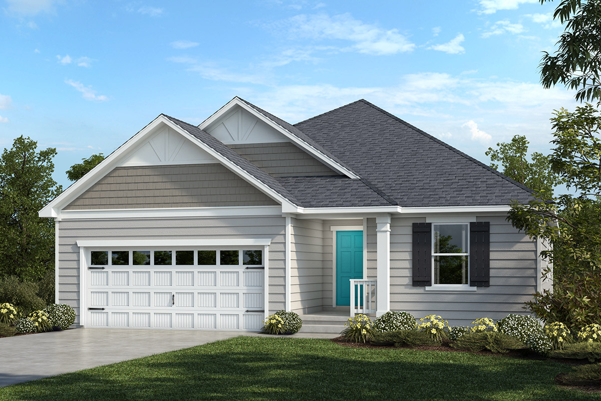 New Homes in Apex, NC - Belterra Plan 2074 Elevation C