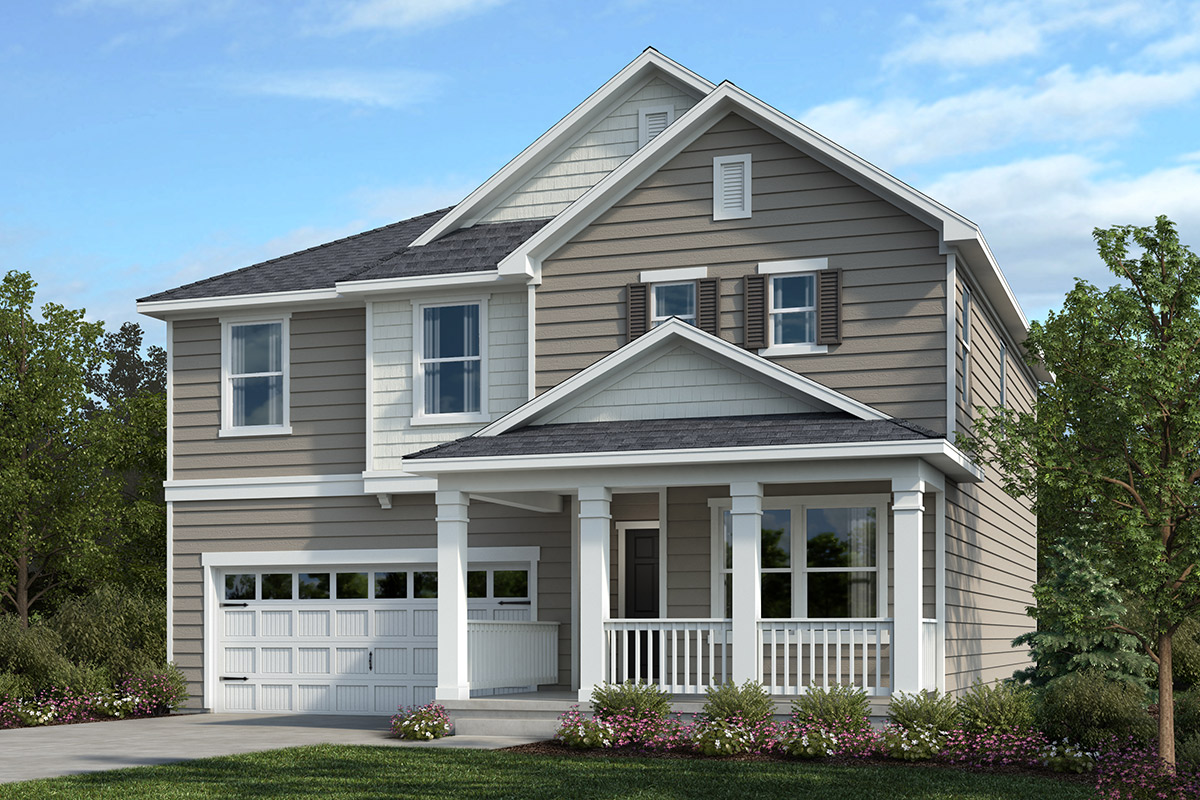 New Homes in Apex, NC - Belterra Plan 2177 Elevation D