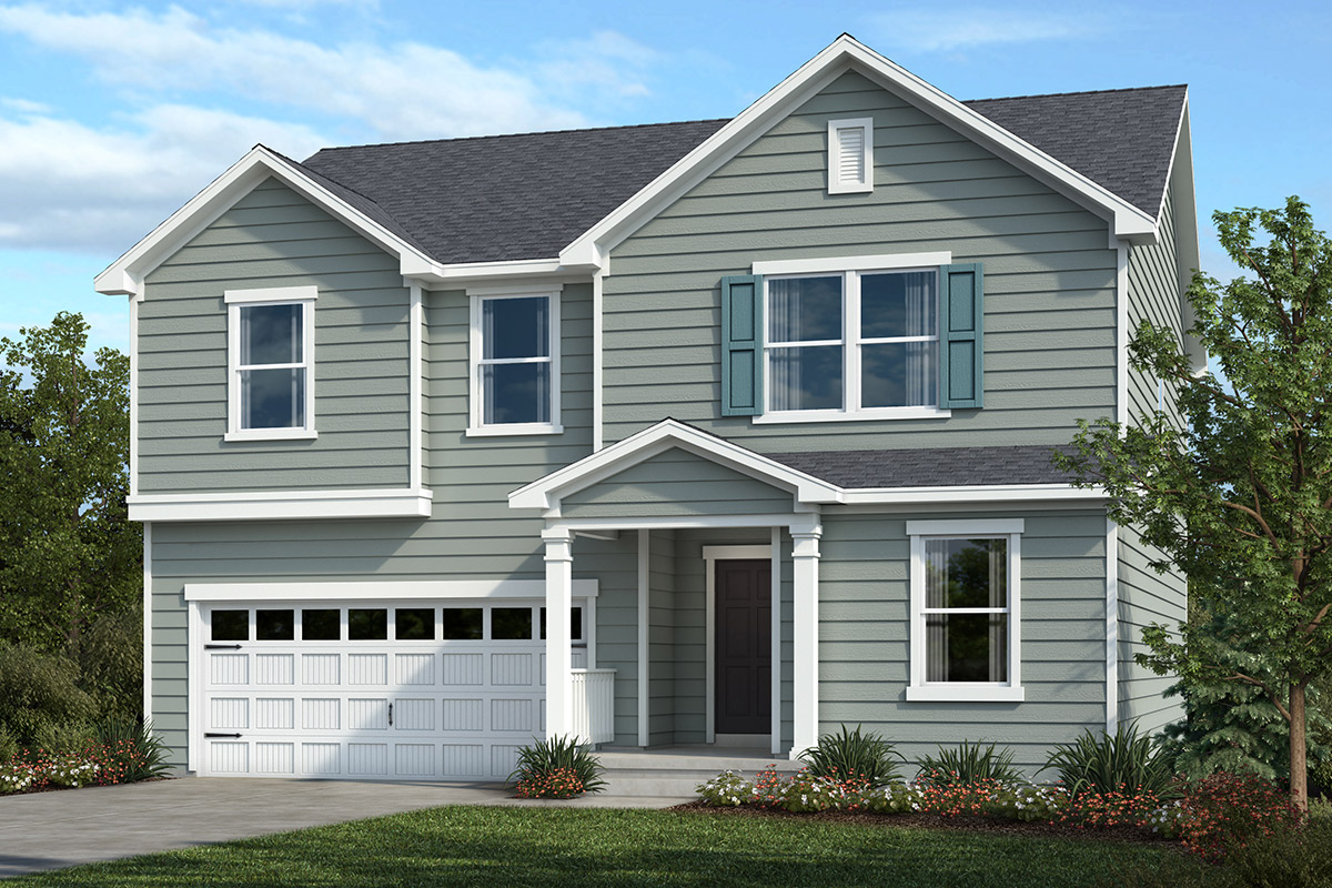 New Homes in Apex, NC - Belterra Plan 2338 Elevation A