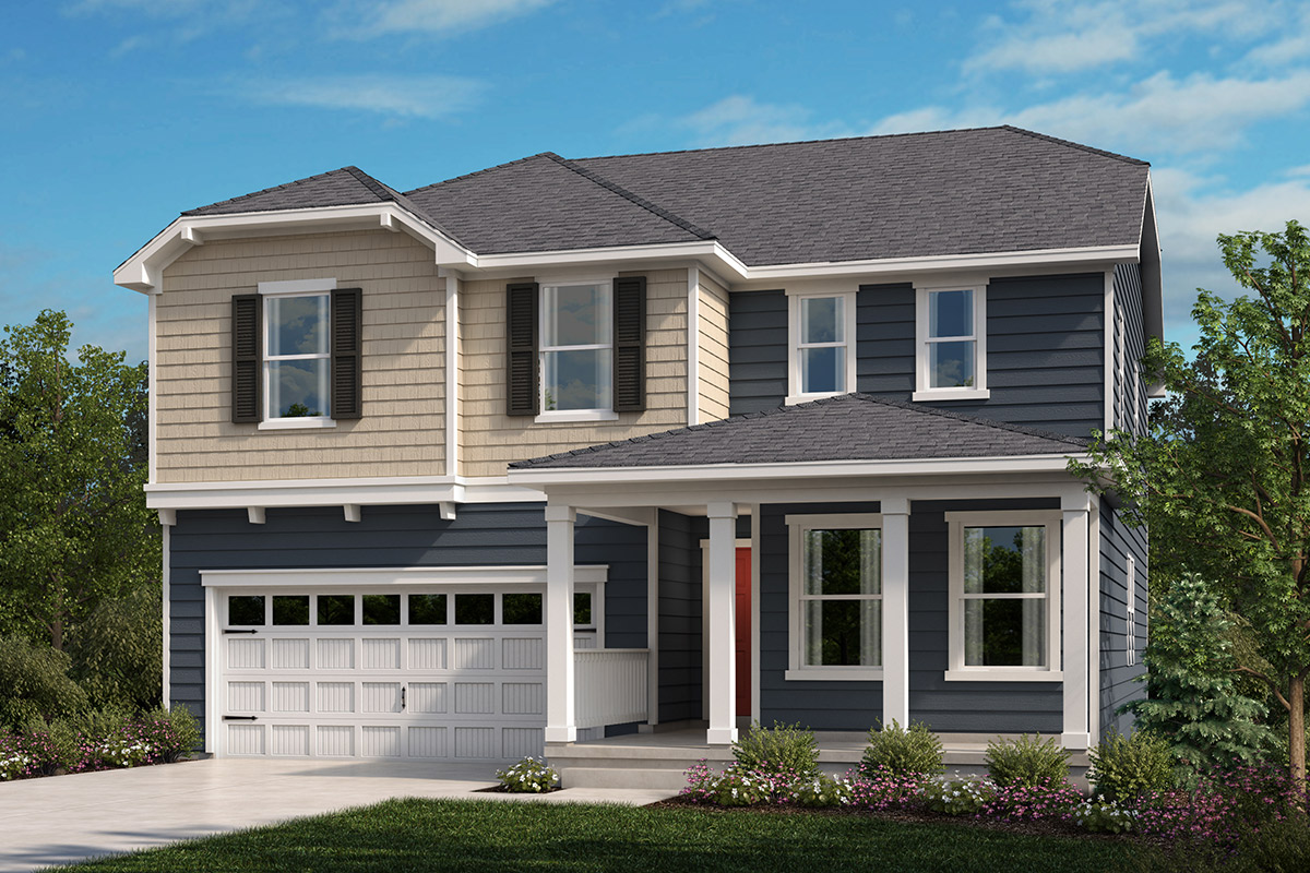 New Homes in Apex, NC - Belterra Plan 2723 Elevation B