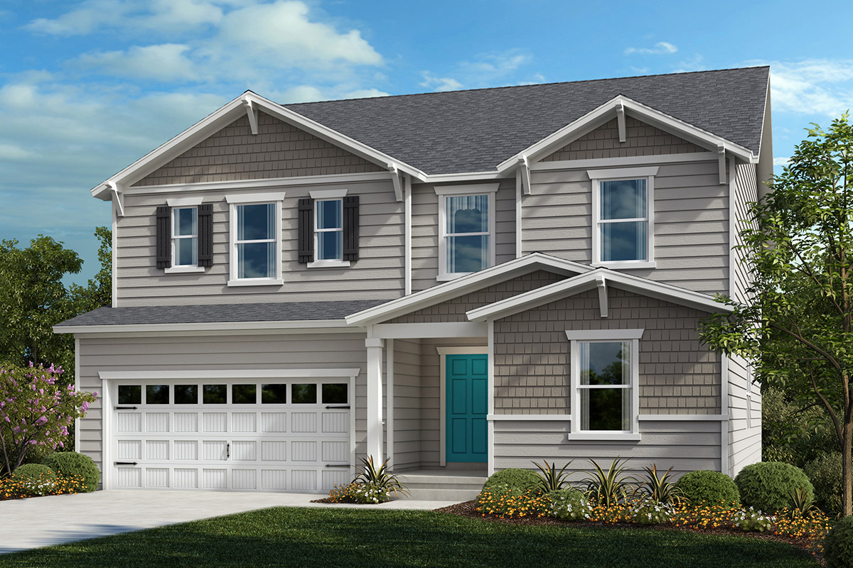New Homes in Apex, NC - Elevation B