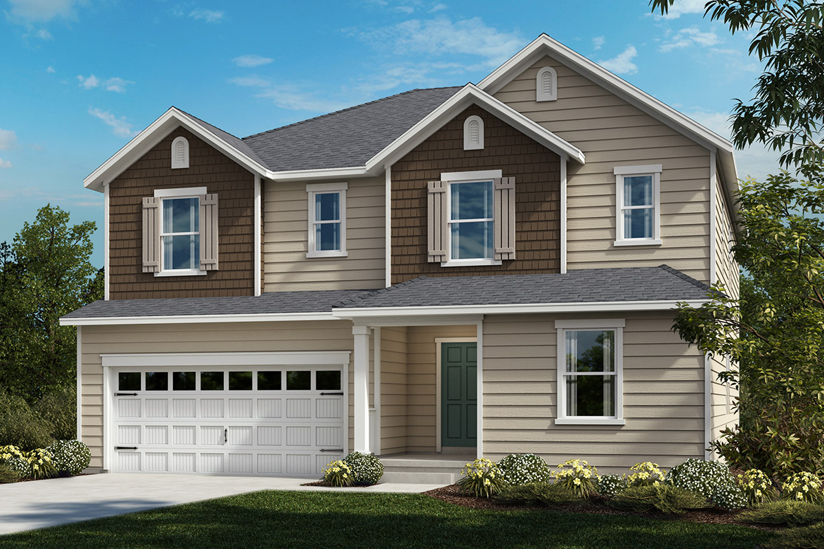 New Homes in Apex, NC - Elevation C