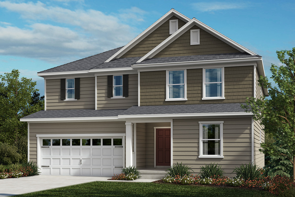 New Homes in Apex, NC - Elevation D
