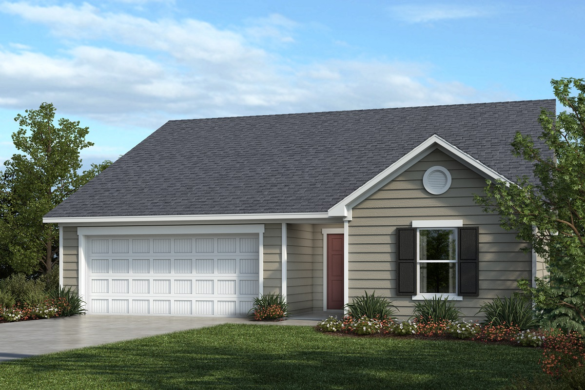 New Homes in Youngsville, NC - Elevation A
