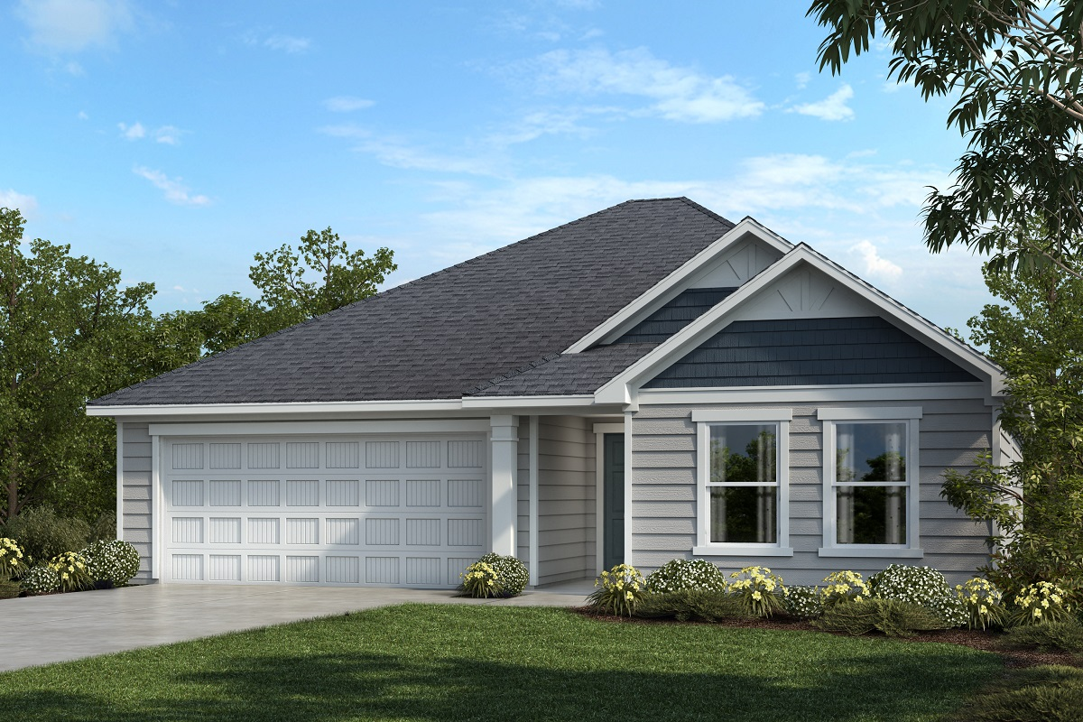New Homes in Youngsville, NC - Elevation C