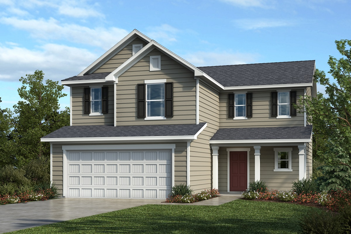 New Homes in Youngsville, NC - Plan 1702