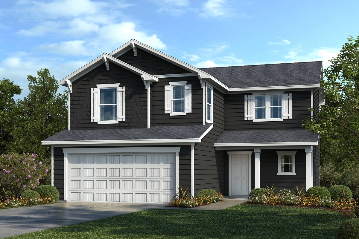 New Homes in Youngsville, NC - Elevation B
