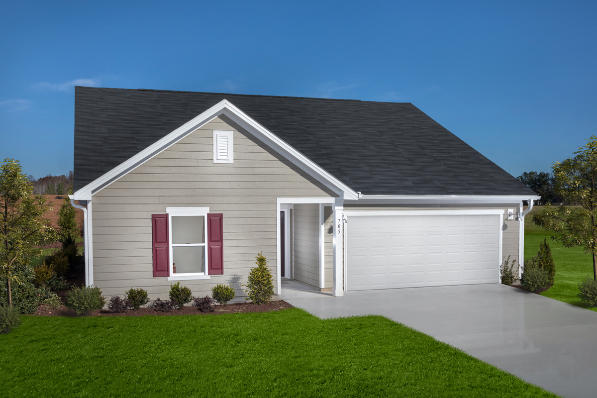 New Homes in Youngsville, NC - Freeman Farms Plan 1582
