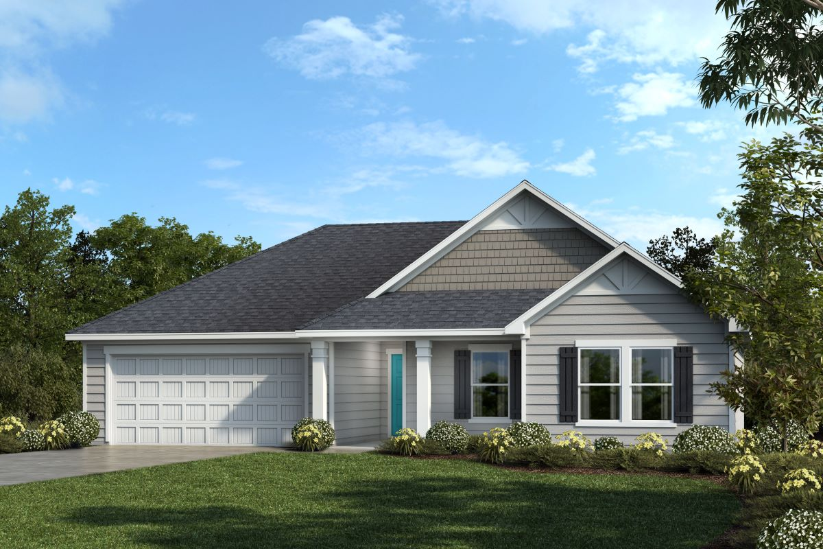 New Homes in Fuquay-Varina, NC - Plan 1446
