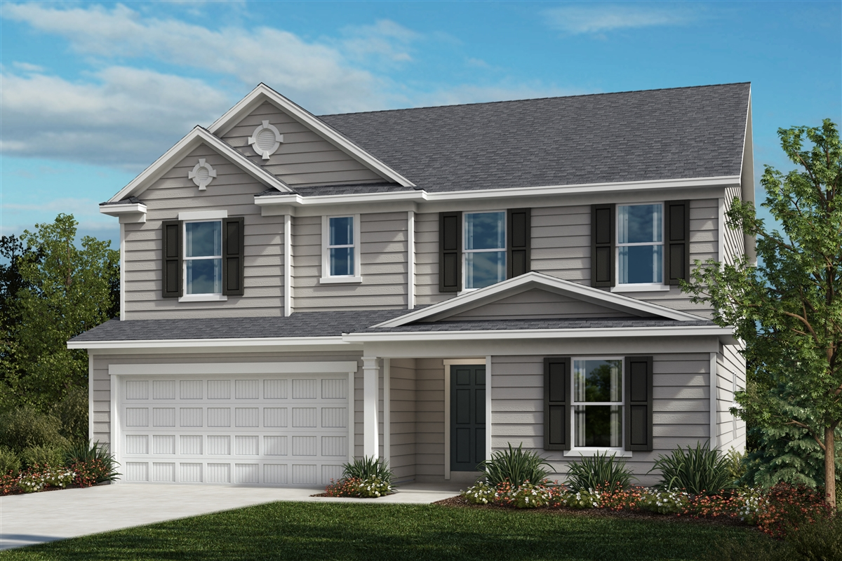 New Homes in Fuquay-Varina, NC - Highland Grove Plan 3174 Elevation A
