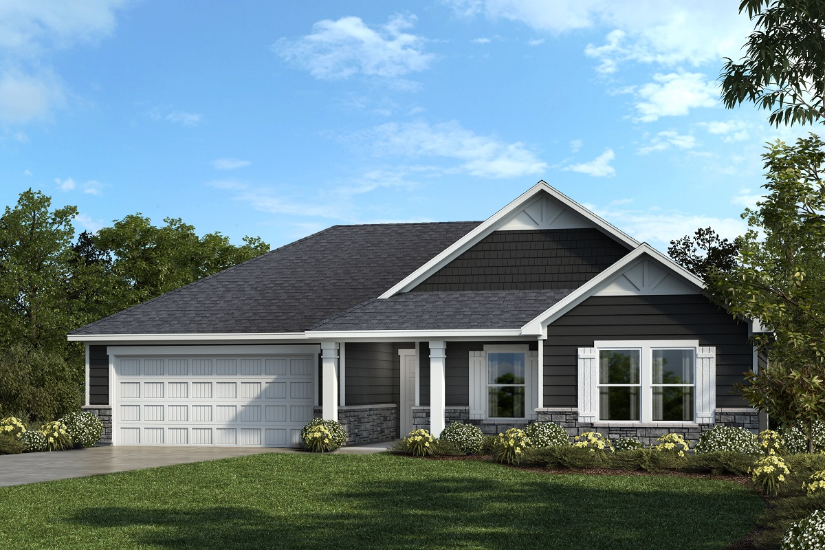 New Homes in Mebane, NC - Elevation C